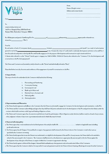 Plot Development Application
