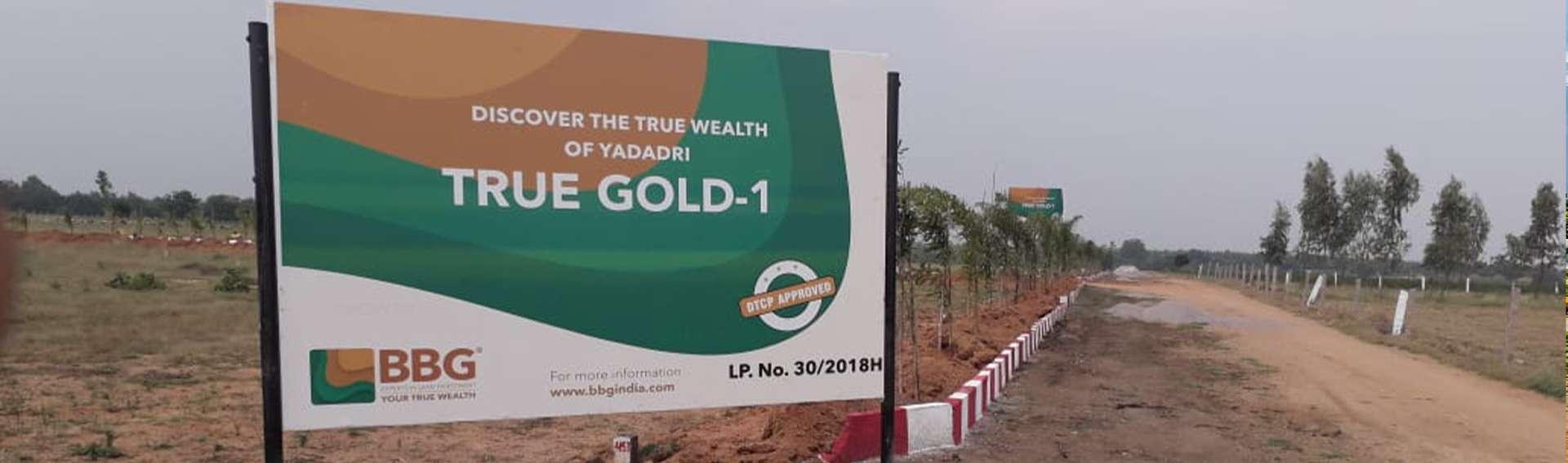 TRUE GOLD - 1@YADADRI